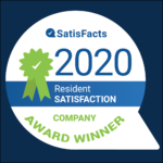 National SatisFacts Resident Satisfaction Company Award